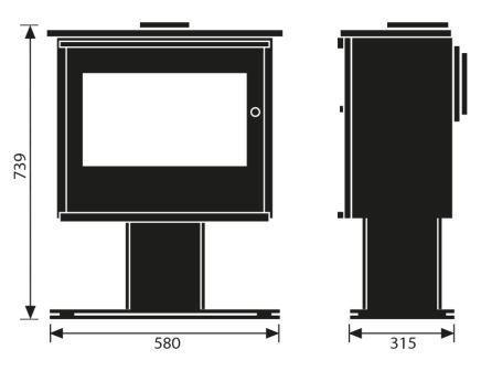 200 xk podium dimensions