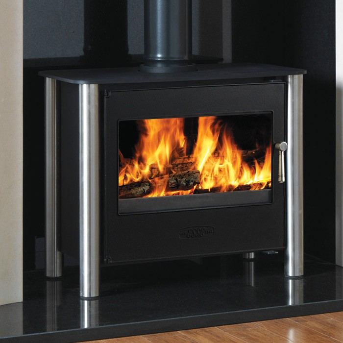 Esse 125 Chrome Legs multi fuel stove